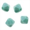 Preciosa Rondell String 22pc. 3mm /6mm Turquoise
